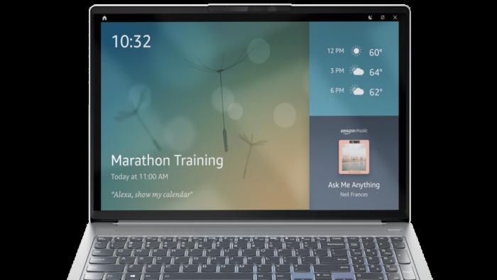 Lenovo IdeaPad 5 Pro com Alexa Imagem: divulgação/Lenovo)