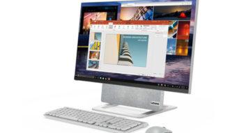 Lenovo Yoga AIO 7 é um PC com tela giratória e processador AMD