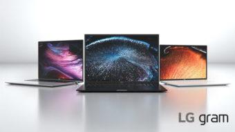 LG anuncia notebooks Gram com Intel e bateria de até 19h