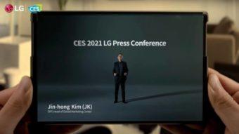 LG Rollable com tela extensível chega em 2021, garante empresa