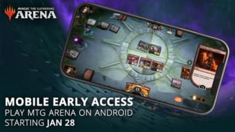 Magic: The Gathering Arena está chegando ao Android