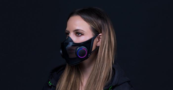 Conceito de máscara N95 da Razer