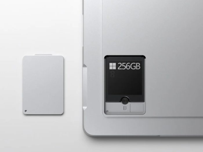É fácil trocar o SSD no Surface Pro 7+ (imagem: divulgação/Microsoft)