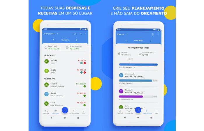 Mobills | aplicativos para aumentar score (Imagem: Divulgação/Mobills)