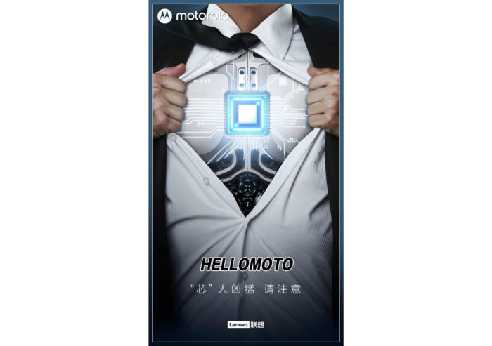Teaser da Motorola para Edge S (Imagem: Reprodução/Weibo)