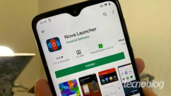 Nova Launcher para Android testa nova versão refeita do zero