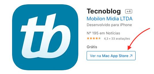 Prévia do app de iPhone no navegador (Imagem: Reprodução/Apple)