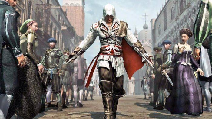 Ezio Collection é um dos jogos em promoção para PS4 e PS5 (Imagem: Divulgação/Ubisoft)