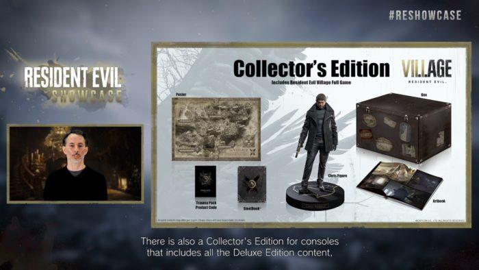 Edição de Colecionador de Resident Evil Village (Imagem: Divulgação/Capcom)