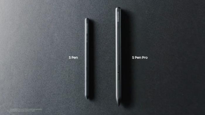 S Pen and S Pen Pro
