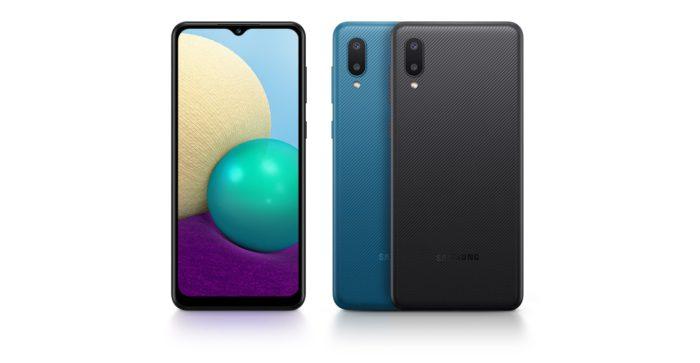 Samsung Galaxy A02 (Imagem: Divulgação/Samsung)