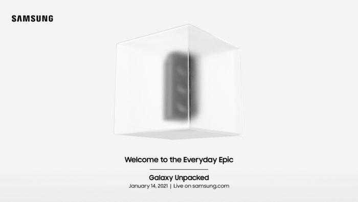 Convite para Samsung Galaxy Unpacked 2021 (Imagem: Divulgação/Samsung)