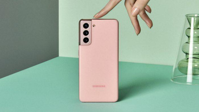 Samsung Galaxy S21 (Imagem: Divulgação/Samsung)