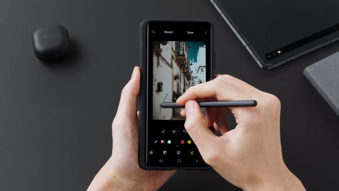 Samsung Galaxy S21 Ultra (Imagem: Divulgação/Samsung)