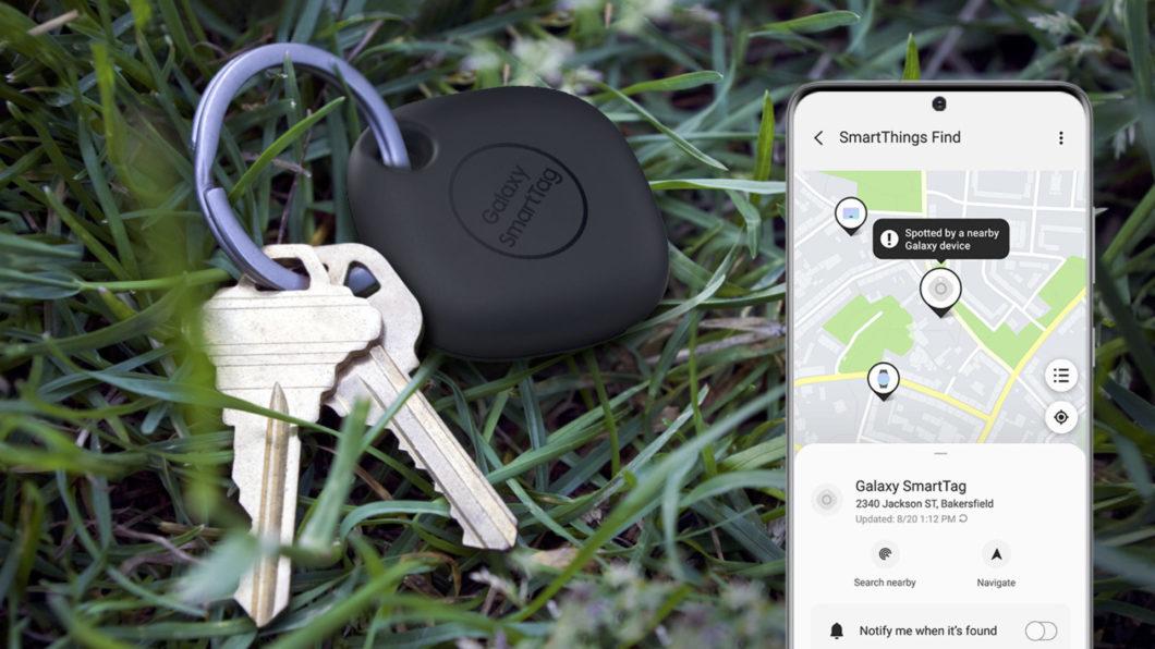 Samsung Galaxy SmartTag (Image: Press Release/Samsung)