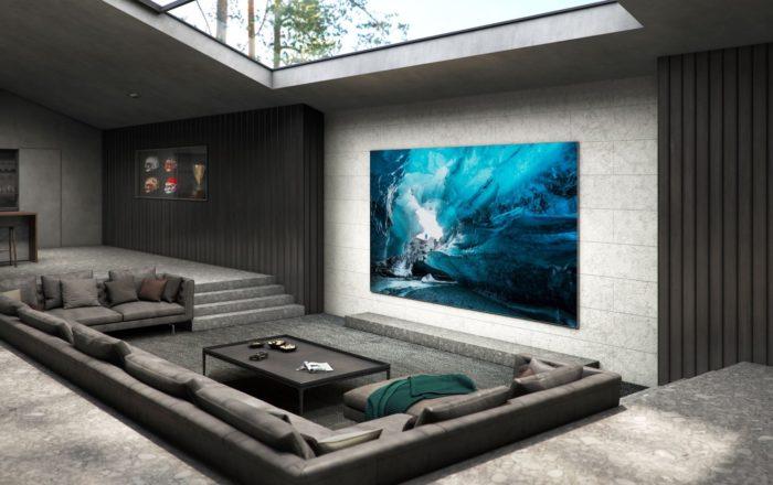 TV Samsung MicroLED (Imagem: Divulgação/Samsung)