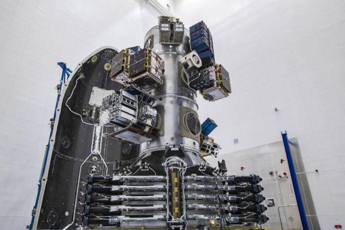 SpaceX lançou 143 satélites, incluindo 10 da Starlink (Imagem: Divulgação)