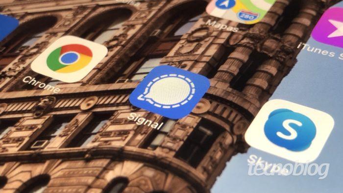 Signal app (Imagem: Lucas Lima/Tecnoblog)