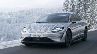 Sony está testando carro elétrico Vision-S em estradas da Europa