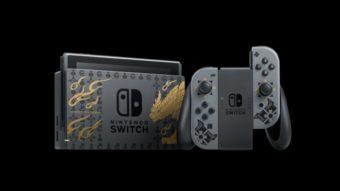 Nintendo Switch ganha versão temática de Monster Hunter Rise