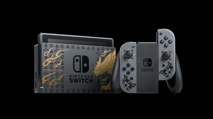 Monster Hunter inspira novo modelo do Switch (Imagem: Divulgação/Nintendo)