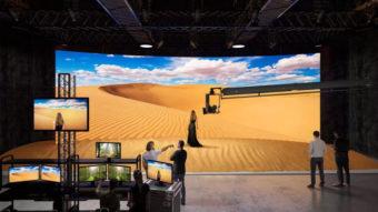 Sony vende telas MicroLED para cenários como em Mandalorian
