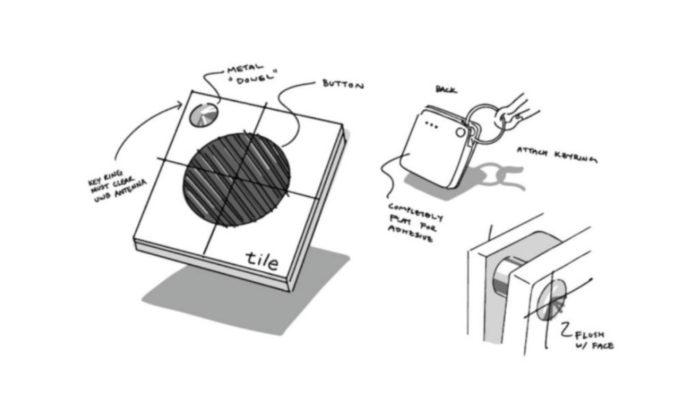 Conceito de rastreador da Tile com UWB (Imagem: Reprodução/TechCrunch)