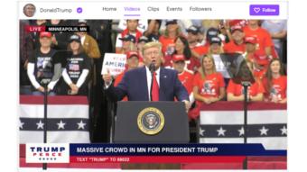 Twitch bane Trump definitivamente e promete mais mudanças