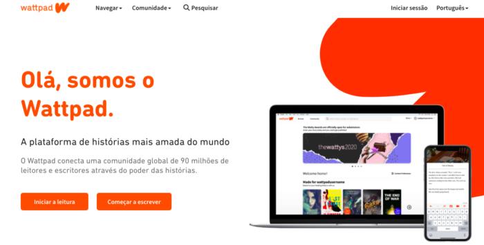 Wattpad é uma plataforma para publicação, mas não a única (Imagem: Reprodução/Felipe Vinha)