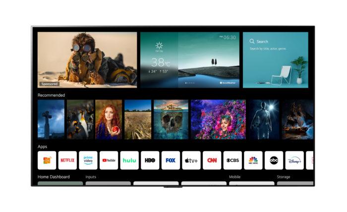 LG anuncia webOS 6.0 com mudanças na interface (Imagem: Divulgação/LG)