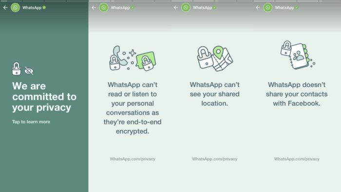WhatsApp publica stories para conter saída de usuários (Imagem: Reprodução/Android Police)