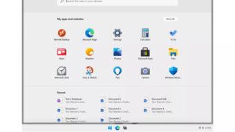 Windows 10X (Imagem: reprodução/The Verge)