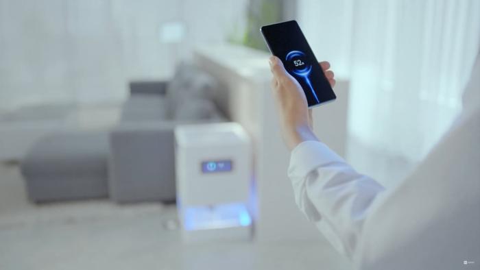 Xiaomi Mi Air Charge (Imagem: Reprodução/Xiaomi/YouTube)