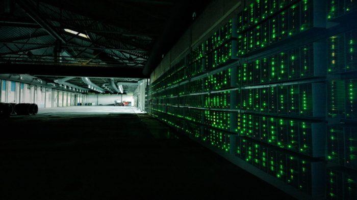 Cryptocurrency Mining Center (Image: Marko Ahtisaari/Flickr)