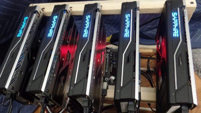 Máquinas mineradoras de criptomoedas (Imagem: Crypto360/Flickr)