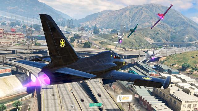 Que tal arriscar corridas aéreas emocionantes? (Imagem: Divulgação / Rockstar)