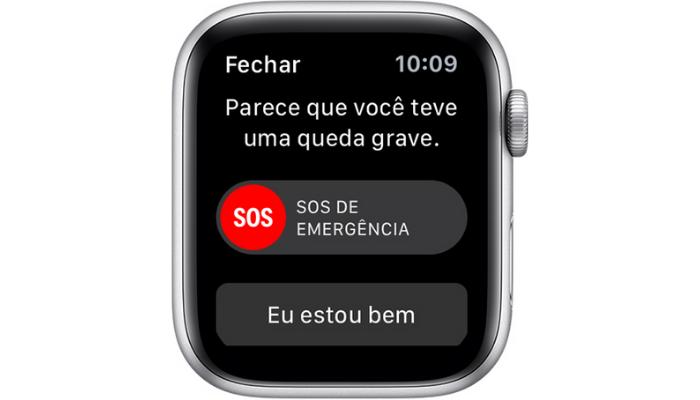 Apple Watch - sensor de queda (Imagem: Reprodução/Apple)
