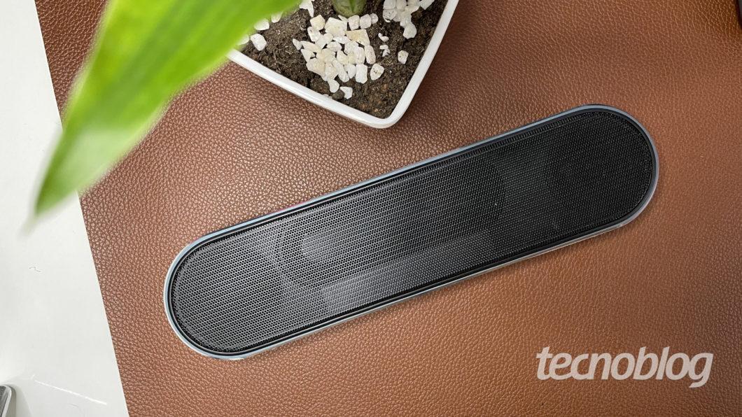 Caixa de som Bluetooth Elsys Ambience (Imagem: Darlan Helder/Tecnoblog)