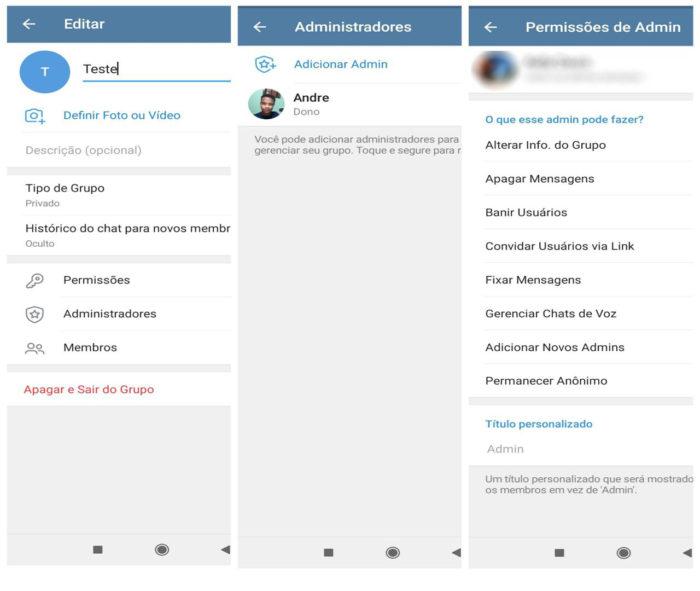 Como usar o Telegram