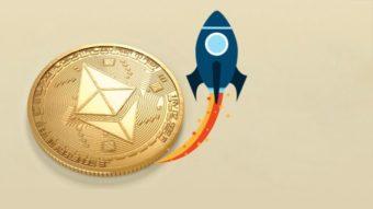 Ethereum bate recorde de preço graças a novo ativo financeiro