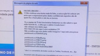 """DataSUS é invadido de novo e hacker reclama: """"continua uma b****"""""""
