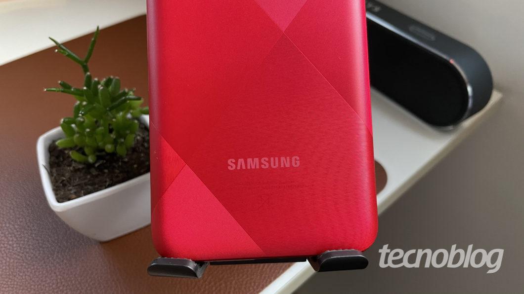 Samsung Galaxy A02s (Imagem: Darlan Helder/Tecnoblog)