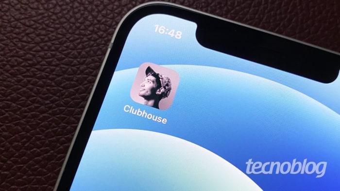 Aplicativo Clubhouse (Imagem: Darlan Helder/Tecnoblog)