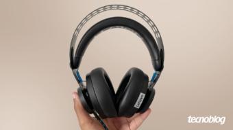 Headset Lenovo Gamer Legion H300: forte e com som equilibrado