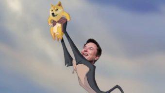 """Elon Musk diz """"Doge"""" no Twitter e preço da criptomoeda dispara"""