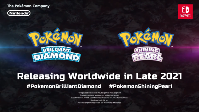 Pokémon Brilliant Diamond & Shining Pearl (Imagem: Divulgação/The Pokémon Company)