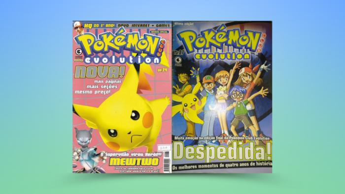 Revistas Pokémon Club Evolution (Imagem: Reprodução/Editora Conrad)