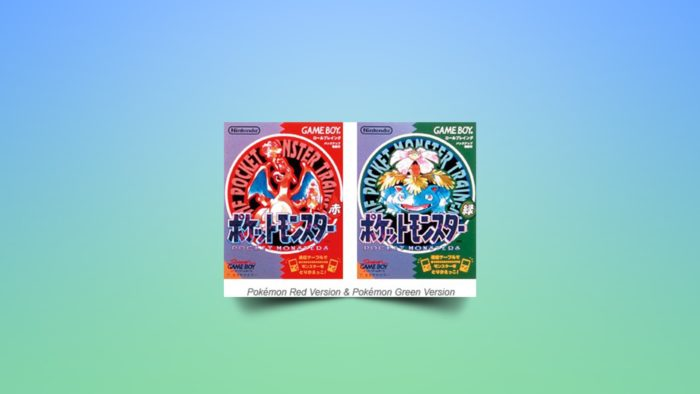 Pokémon Red and Green covers (Image: Press Release / Nintendo)