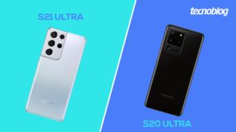 Comparativo: Samsung Galaxy S20 Ultra ou S21 Ultra; qual a diferença?