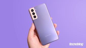 Samsung Galaxy S21: upgrade com downgrades